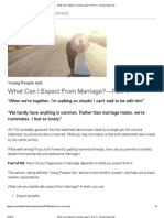 What Can I Expect From Marriage__—Part 1 _ Young People Ask