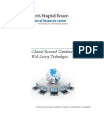 Clinical Research Databases