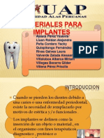 16va Clase Materiales Para Implantes