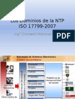Los Dominios de La NTP ISO 17799-2007