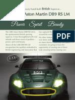 UBB Aston Martin DB9