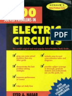 3000 Solved Problems in Electric Circuits (Schaums)