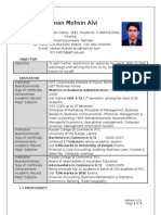 Salman Mohsin Alvi Resume