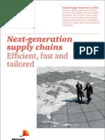 Pwc Global Supply Chain Survey 2013