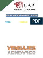 PRIMEROS AUXILIOS -VENDAJE-