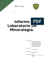 Informe Mineralogia Solis
