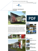 Assembly One Pavilion _ Yale School of Architecture Students _ ArchDaily