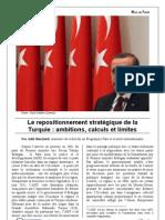 Mise Au Point Le Repositionnement Strategique de La Turquie - Ambitions Calculs Et Limites