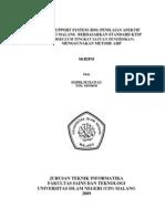 DSS dengan metode AHP