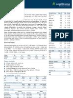 Market Outlook, 15-05-13