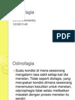 Odinofagia