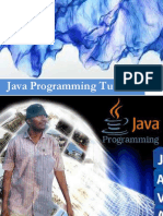 JAVA PROGRAMMING TUTORIAL BY SHAIK BILAL AHMED