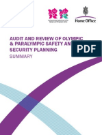Audit Olympic Security Nov10