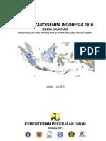 Indonesia Seismic Map 2010