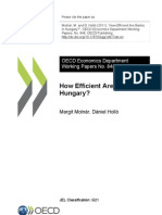How Efficient Are Banks in Hungary OECD.pdf