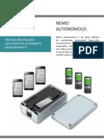 Nemo Autonomous Brochure With LTE Dec12 0