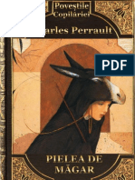 Charles Perrault - Pielea de Magar