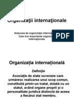 Organizaţii internaţionale