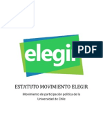 Estatuto Final - Movimiento Elegir