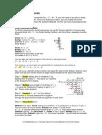 Polynomial Factoring