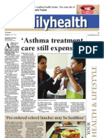 Asthma treatment, care still expensive