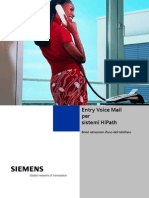 Siemens EVM Entry Voice Mail