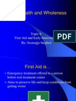 Early Intervention on first aid.pptx
