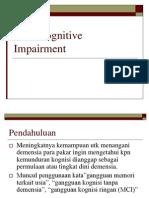Mild Cognitive Impairment-Dr. Tumpal, SpS