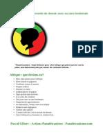 L'Afrique l'Avenir Du Monde de Demain Avec Ou Sans Lendemain