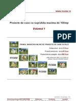 Proiecte de Case Suprafata Max 150mp Vol 1