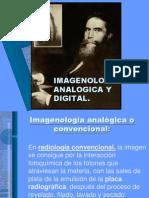 2.1 Imagenología analógica y digital.