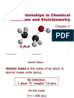 Chemistry-3-Mass Relationships in Chemical
