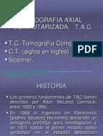 2.2 Tomografía Computada