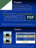2.4 Doppler física, terminología y aplicaciones
