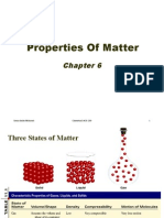 Chemistry 6 Properties of Matter