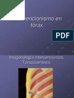 4.6  Intervencionismo en tórax(1)