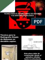 6.2b Anatomía radiológica de la radiografía simple de abdomen