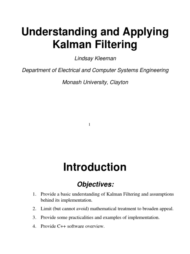 Kalman filter | Kalman Filter | Covariance Matrix
