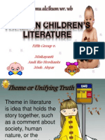 5 Theme in Children Literature