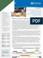 Bulletin humanitaire Tchad Novembre 2012 - Bonne production agricole en 2012