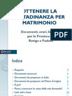 Ottenere La Cittadinanza Italiana Per Matrimonio