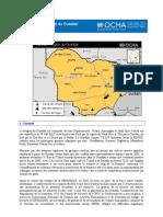 TCHAD - Profil régional du Ouaddaï Novembre  2012