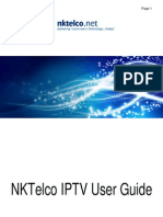 Ip Tv User Guide All Stb