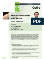 121221 Sur Pac Resource Evaluation