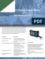 DigitalPowerMeter-5000XT datasheet