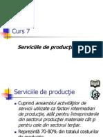 Curs 7 Economia Serviciilor