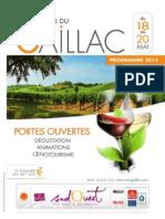 Printemps Du Gaillac - Programme 2013