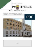 Bollettino Regione Puglia 15 maggio 2013