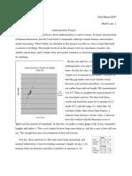 Anthropometry Essay