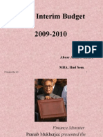 Intrem Budget2009-10